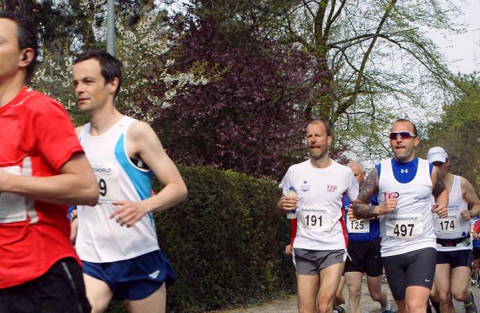 Hardlopen met een personal trainer