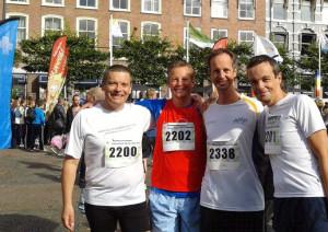 Vijf kilometer hardlopen
