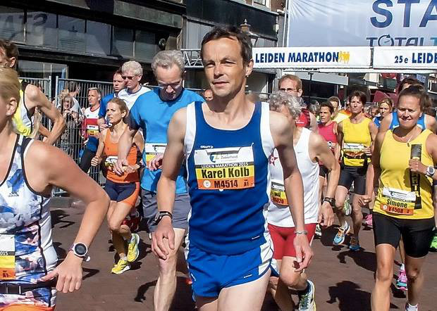 Train met Sportrusten voor de marathon in 2017.