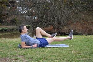 Oefening voor na het hardlopen