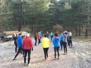 Voorbeeld trailrun training