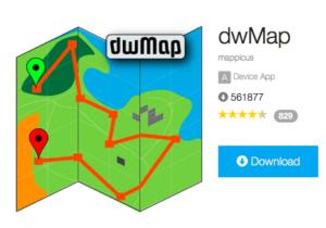 dwMap installeren en gebruiken